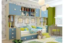 Мебель для детской Радуга