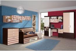 Модульная детская мебель Индиго