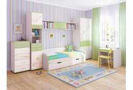 Детская модульная мебель Акварель