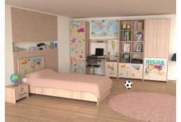 Детская модульная мебель Улыбка-4