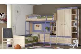 Набор модульной мебели для молодежи Индиго