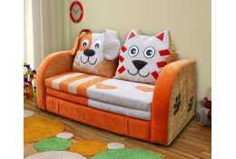 Детский диванчик Кот и Пес