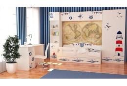 Детская модульная мебель Морская
