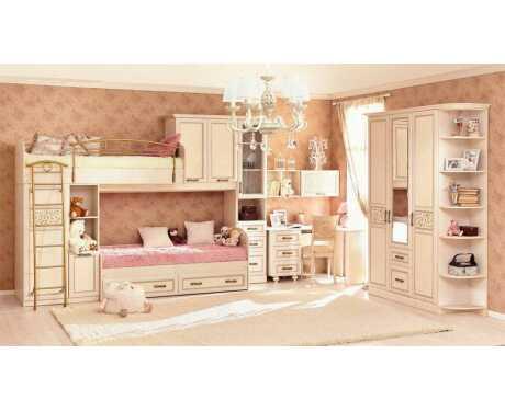 Детская модульная мебель Александрия