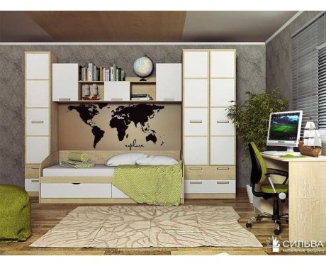 Модульная подростковая мебель Фанк