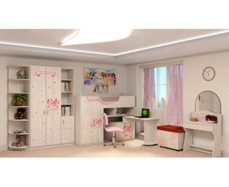 8a1ab309503a Детская мебель для девочки Ларго - Глория | купить 38280 руб. в Спб!