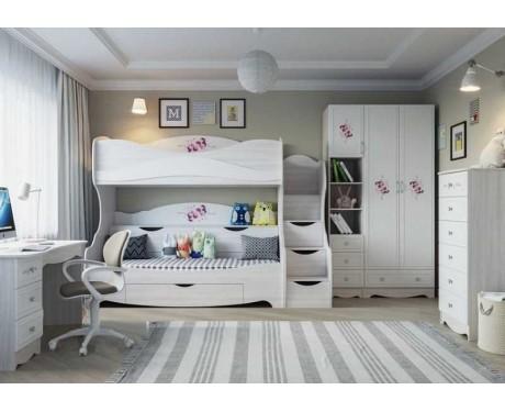 Детская модульная мебель Акварель-1