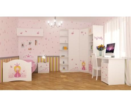 Детская модульная мебель Принцесса