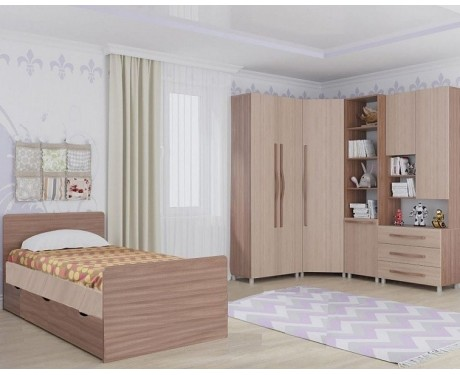 Мебель для детской Алекс 1 (ясень шимо)