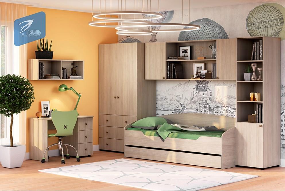 модульная детская мебель мийа 3 от производителя стиль в санкт